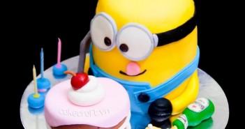 Những hình ảnh bánh sinh nhật đẹp và vô cùng dễ thương nhé 8