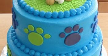 Những hình ảnh bánh sinh nhật hình con chó tinh nghịch và đáng yêu 14