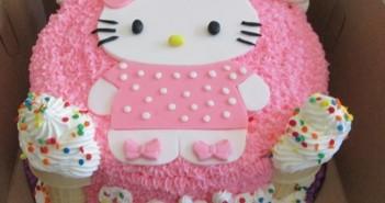 Những hình ảnh bánh sinh nhật hình con mèo trong đáng yêu vô cùng 10
