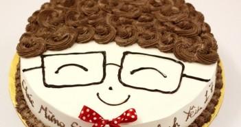 Những hình ảnh bánh sinh nhật hương vị socola dễ thương và vô cùng ấn tượng 8