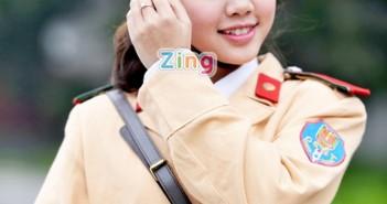 Những hình ảnh girl xinh đáng yêu và duyên dáng trong bộ quân phục 5