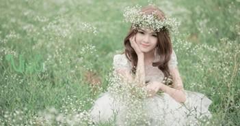 Những hình ảnh hot girl Lily Luta trong những chiếc đầm xòe như công chúa 6
