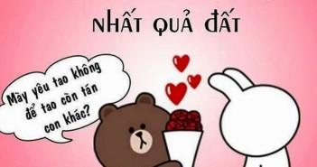 Những hình nền facebook về tình yêu hài hước và đáng yêu nhất nhé 4