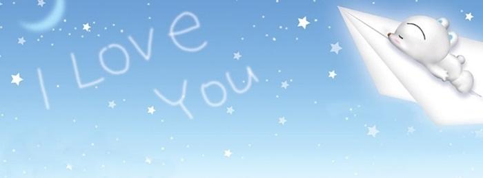 Bộ ảnh bìa facebook chữ I Love You đẹp lãng mạn và ấn tượng 10