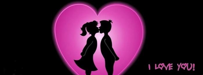 Bộ ảnh bìa facebook chữ I Love You đẹp lãng mạn và ấn tượng 14