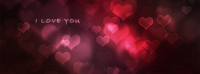 Bộ ảnh bìa facebook chữ I Love You đẹp lãng mạn và ấn tượng 6