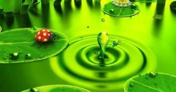 Bộ sưu tập những hình ảnh thiên nhiên 3D đẹp lãng mạn và thơ mộng nhất 2
