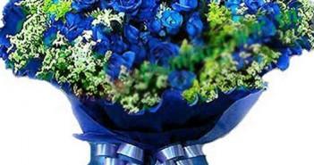 Những bó hoa hồng rực rỡ màu sắc dành tặng 20-10 vô cùng ý nghĩa 9