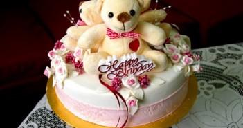 Những hình ảnh bánh sinh nhật dễ thương với những họa tiết tinh tế 3