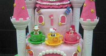 Những hình ảnh bánh sinh nhật Mèo Kitty dễ thương và đáng yêu 8