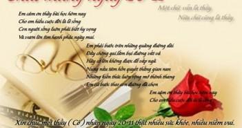 20-11 ngày nhà giáo Việt Nam với những món quà ý nghĩa nhất 1