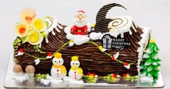 Bánh khúc cây giáng sinh ngon đẹp mang lại nhiều may mắn và sức khỏe cho mọi người dịp đầu năm 2
