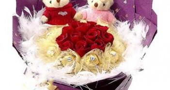 Bó hoa đẹp nhất tặng người yêu đảm bảo tán là đỗ 17
