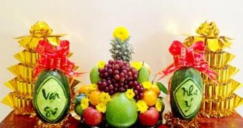Cách xếp mâm ngũ quả ngày tết đẹp đơn giản mang lại nhiều may mắn cho năm mới 6