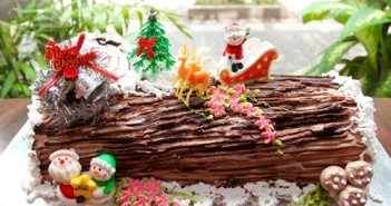 Hình ảnh bánh kem hình khúc cây đẹp độc đáo cho ngày giáng sinh thêm may mắn 15