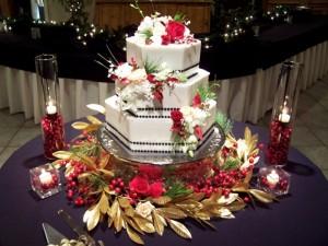 Những hình ảnh bánh kem cưới đẹp lãng mạn và lung linh nhất 2