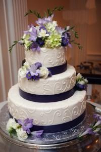 Những hình ảnh bánh kem cưới đẹp lãng mạn và lung linh nhất 4