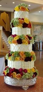 Những hình ảnh bánh kem cưới đẹp lãng mạn và lung linh nhất 6