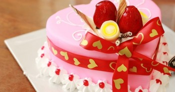 Những hình ảnh bánh sinh nhật hình trái tim tặng người yêu tuyệt đẹp 9