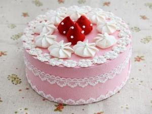 Những hình ảnh bánh sinh nhật màu hồng vô cùng dễ thương và lãng mạn 6