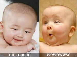 Những hình ảnh chế dễ thương đáng yêu của những em bé 6