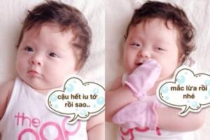 Những hình ảnh chế dễ thương đáng yêu của những em bé 9