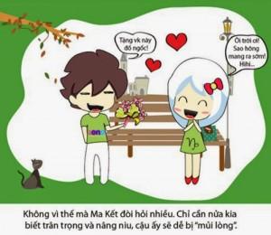 Những hình ảnh hoạt hình tình yêu dễ thương và hài hước nhất 6