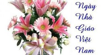 Những lẵng hoa tươi thắp nhất gửi tặng các thầy cô nhân ngày Nhà Giáo Việt Nam 20/11