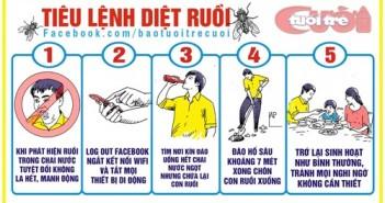 Hình ảnh châm biếm ruồi trong nước ngọt đang gây nhiều ý kiến trong cộng đồng mạng 6