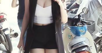 Hình ảnh gái xinh mặc áo gile quyến rũ gợi cảm nhất 1