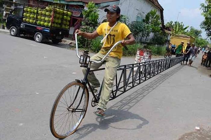 Hình ảnh những chiếc xe đạp độc nhất vô nhị trên thế giới đầy ấn tượng 5