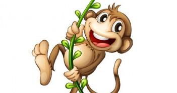 Tổng hợp hình ảnh hoạt hình khỉ con đáng yêu để chào đón năm mới Bính Thân 10