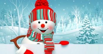 Tuyển tập hình ảnh người tuyết vô cùng đáng yêu để làm ảnh bìa facebook 1