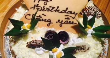 Tuyển tập những mẫu bánh sinh nhật dành tặng chồng vô cùng ý nghĩa và cực kì lãng mạn 4