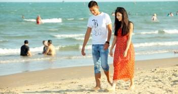 Những ảnh bìa Facbook đẹp về các cặp đôi tình nhân trên bãi biển 1