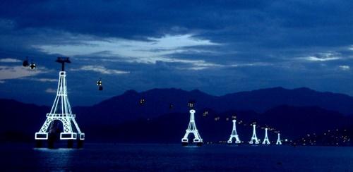 Biển Nha Trang hoàng hôn về đêm bình minh đẹp nên thơ 10