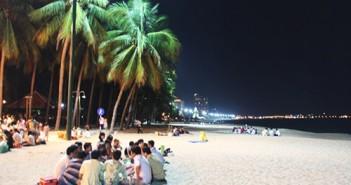 Biển Nha Trang hoàng hôn về đêm bình minh đẹp nên thơ 11