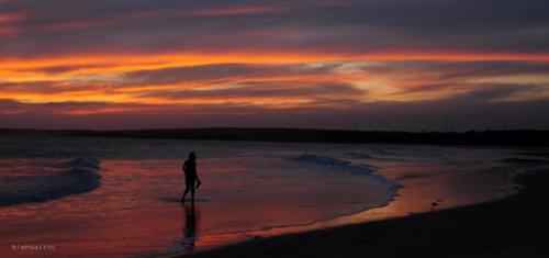 Biển Nha Trang hoàng hôn về đêm bình minh đẹp nên thơ 3