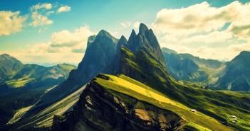 Hình ảnh những dãy núi tuyệt đẹp trên thế giới 6