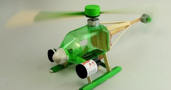 Hình ảnh những vật dụng làm từ vỏ chai nhựa đẹp rất hưu ích trong cuộc sống 1