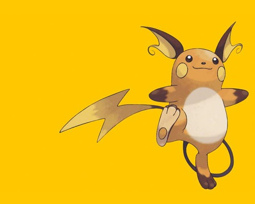 Hình ảnh pikachu tiến hóa mega đẹp cute dễ thương 3