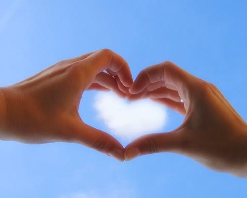 Hình trái tim đẹp dễ thương trên facebook 10