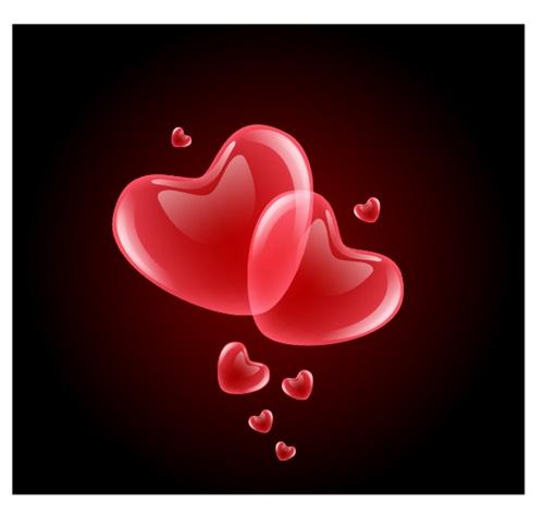 Hình trái tim đẹp dễ thương trên facebook 5