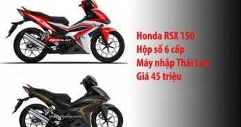 Supra X150 mới của Honda giá bao nhiêu RSX 150 4
