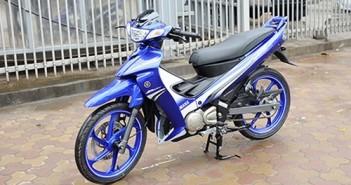 Yamaha 125zr 2015 giá bao nhiêu huyền thoại cá mập đã về Việt Nam với 3 màu Xanh gp đỏ đen 1