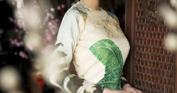 Hình ảnh Ngọc Trinh mặc áo dài đẹp quyến rũ nhất 16