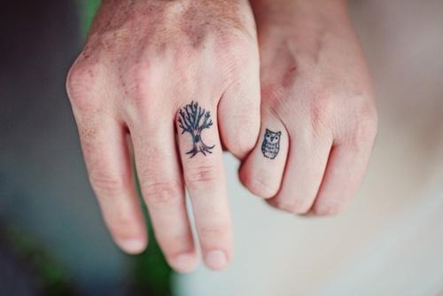 Hình xăm đôi đẹp ý nghĩa cho các cặp đang yêu nhau 15