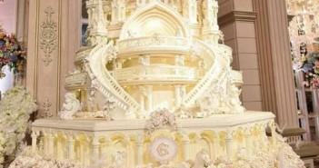 Hình ảnh bánh sinh nhật đẹp nhiều tầng độc đáo sang trọng ấn tượng cho buổi tiệc thêm hoành tráng 8