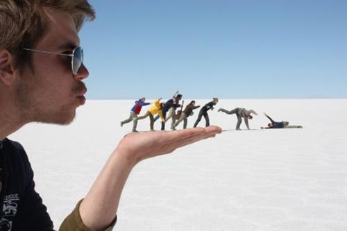 Những bức ảnh đánh lừa thị giác của bạn ấn tượng siêu đẳng độc đáo mới nhất 8