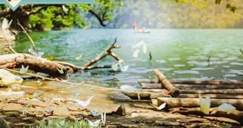 Hình ảnh hồ ba bể đẹp ngất ngây mùa hồ điệp bạn nên khám phá trong hè này 5